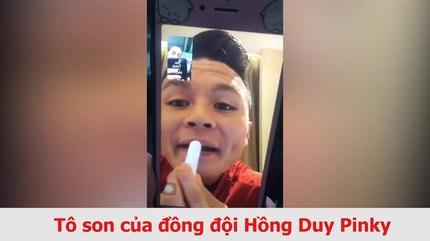 Khoảnh khắc dễ thương sau sân cỏ của Quang Hải U23 Việt Nam