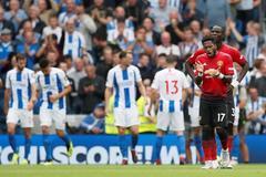 Hàng thủ quá tệ, MU thua muối mặt trước Brighton