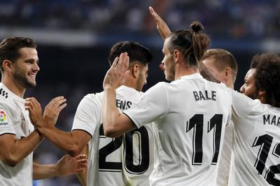 Bale lập công, Real thắng nhẹ trận derby