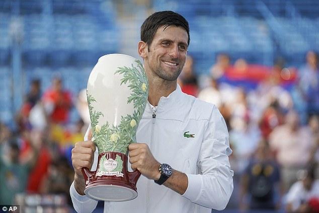 Cincinnati Masters,Federer,Djokovic