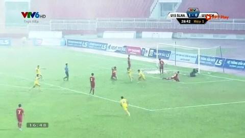 U15 SLNA vs Khánh Hòa
