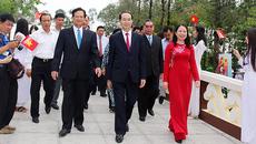 Chủ tịch nước dự lễ  kỷ niệm 130 năm ngày sinh Bác Tôn