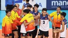 Bóng chuyền nam Việt Nam gây địa chấn khi thắng Trung Quốc