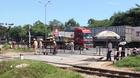 Quảng Nam: Xe container vào cua hất người phụ nữ tử vong tại chỗ