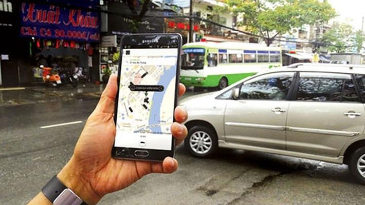 Grab,Uber,Taxi,Bộ Giao thông vận tải,Phương tiện công cộng,Cách mạng 4.0.,Nền tảng công nghệ