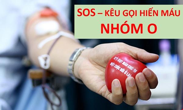Cạn kiệt nhóm máu O, 180 bệnh viện chỉ còn đủ dùng 3 ngày