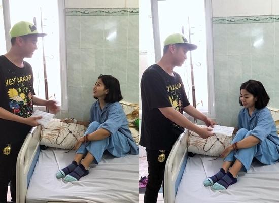Mai Phương cười tươi lạc quan ở bệnh viện