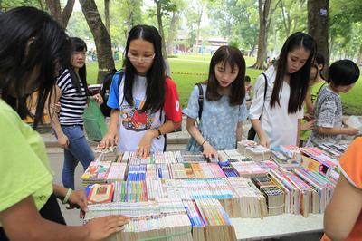 Hơn 50 đơn vị xuất bản tham dự Hội sách Mùa thu 2018