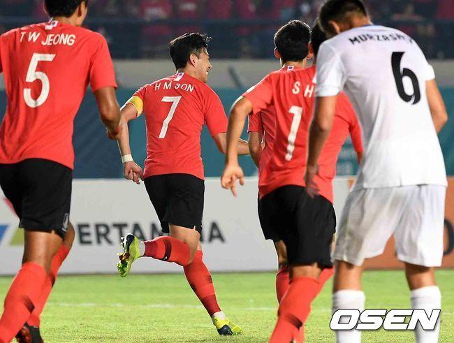 U23 Hàn Quốc,U23 Kyrgyzstan