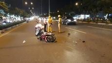 Nam thanh niên kéo lê CSGT hơn chục mét ở Sài Gòn