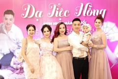 Hoàng Yến mở dạ tiệc hồng mừng sinh nhật con với chồng thứ 4