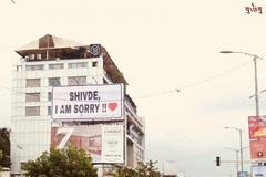 Kết đắng cho đại gia dựng hàng loạt tấm biển xin lỗi bạn gái