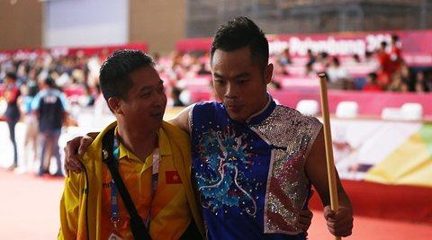 Phạm Quốc Khánh giành HCB Wushu