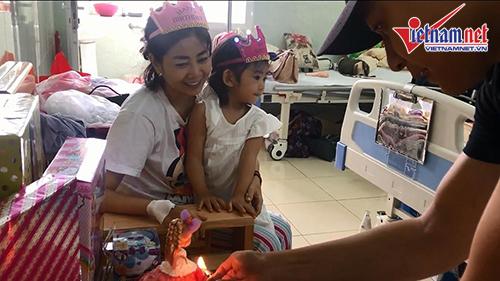 Sinh nhật con gái diễn viên Mai Phương