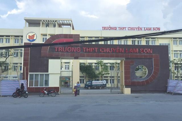 Thanh Hóa,Trường THPT,Trường THPT chuyên Lam Sơn,Phúc khảo
