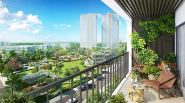 Căn hộ 3 phòng ngủ 'vừa túi tiền' ở Eco-Green Saigon