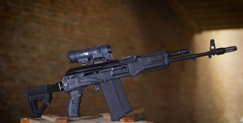 Xem mẫu súng trường mới của nhà sản xuất AK-47 nhả đạn