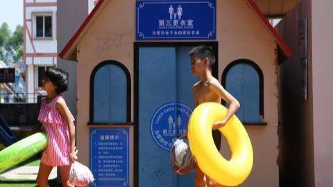Phòng thay đồ đặc biệt dành cho trẻ em thuộc tỉnh Trùng Khánh (Trung Quốc)