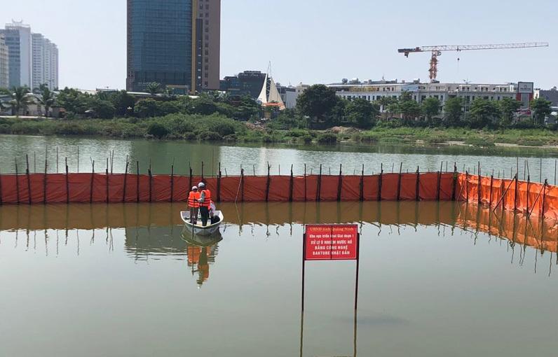 Khởi động thí điểm cứu hồ ô nhiễm bằng công nghệ Bakture