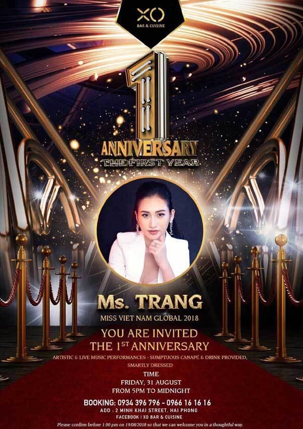 Dàn sao dự XO Bar & Cuisine Anniversary 1 Year