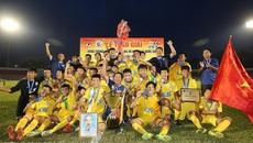 SLNA vô địch U15 QG sau loạt đấu cân não Viettel