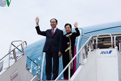 Chủ tịch nước lên đường thăm cấp Nhà nước đến Ethiopia và Ai Cập