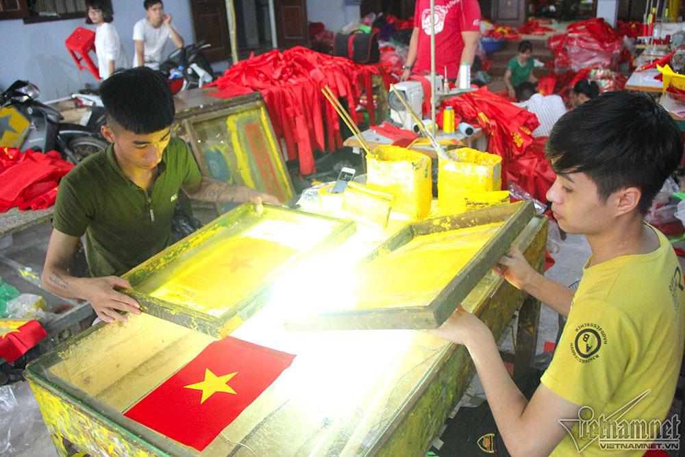 Park Hang Seo,Cổ vũ U23 Việt Nam,U23 Việt Nam,bán kết asiad,cờ Tổ quốc
