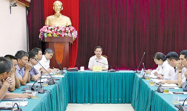 chậm hủy chuyến,Bộ trưởng Nguyễn Văn Thể