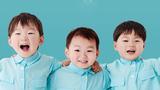 'Phát sốt' với hình ảnh sinh ba đẹp như tranh vẽ