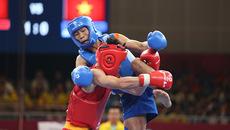 Đầu gối sưng vù, võ sĩ Việt Nam cắn răng giành HCB Asiad