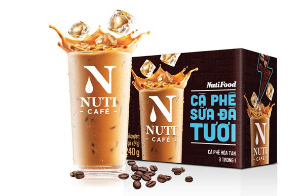NutiFood 'đóng gói' cà phê sữa đá pha phin