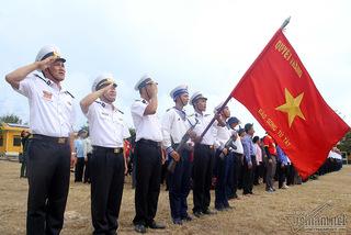 Lời thề son sắt dưới cờ Tổ quốc ở Trường Sa