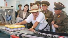 Kim Jong Un lại nổi giận khi thị sát nhà máy