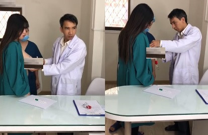 Bác sĩ livestream lộ ngực của khách hàng trên mạng xã hội