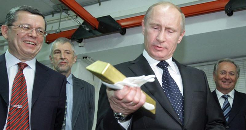 Nga,dự trữ vàng,mua vàng