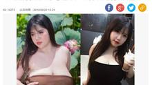 Nữ sinh có vòng 1 'khủng' ở Hải Dương lên báo nước ngoài gây xôn xao