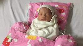 Mẹ tai nạn hôn mê hơn 3 tháng, bé gái Hà Nội vẫn chào đời khoẻ mạnh