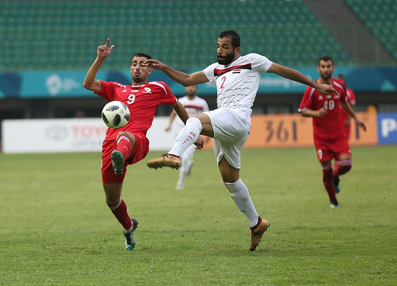 U23 Syria hạ U23 Palestine nhờ 'thảm họa Karuis'
