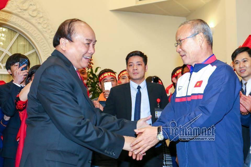 Thủ tướng Nguyễn Xuân Phúc,Nguyễn Xuân Phúc,Olympic Việt Nam,U23 Việt Nam,Asiad