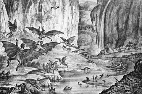 Ngày này năm xưa: Vụ lừa đảo lớn nhất về sự sống trên mặt trăng
