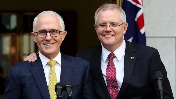 Scott Morrison,Australia,địa chấn chính trị,Thủ tướng Australia