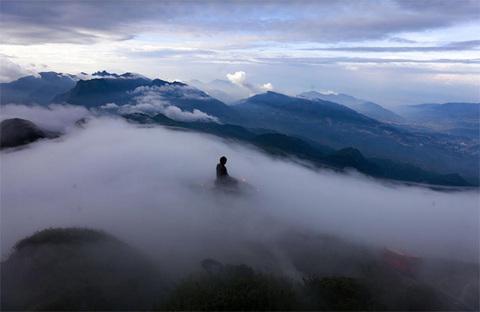 Lễ Vu Lan đáng nhớ trong đời trên đỉnh Fansipan