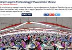 Nhìn thành quả này của Việt Nam, Ukraine cảm thấy ngưỡng mộ