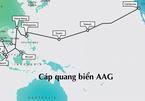 Cáp quang biển AAG mới sửa xong 1 tháng lại gặp sự cố