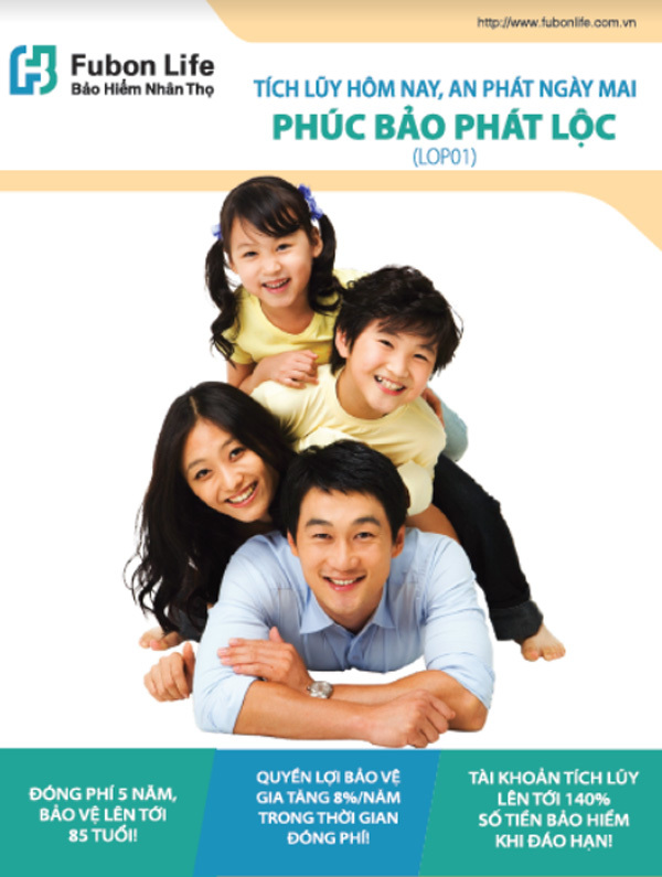 Fubon Life Việt Nam ra mắt  sản phẩm Phúc Bảo Phát Lộc