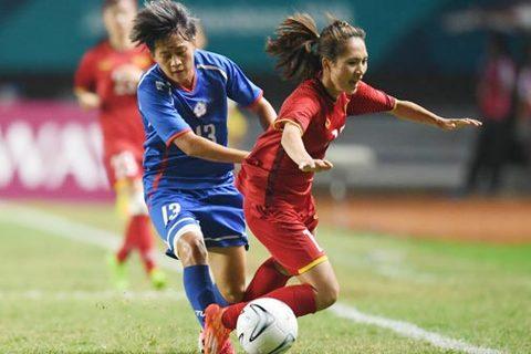 Nữ Việt Nam 0-0 Đài Loan (pen 3-4)