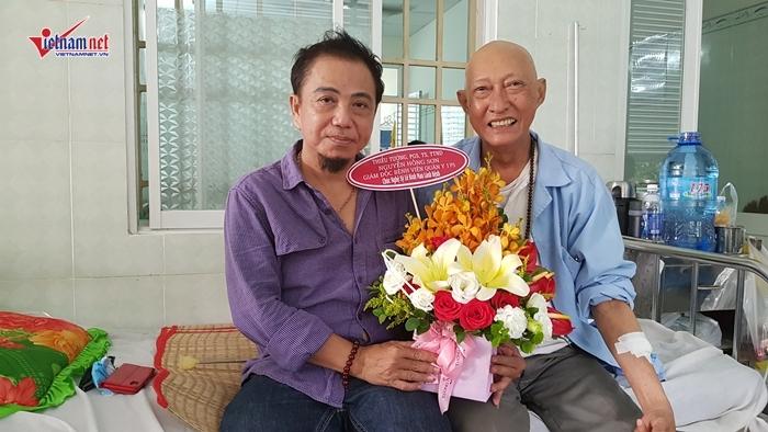 Đối diện với ung thư phổi, diễn viên Lê Bình mỉm cười: 'Đời là phù du'