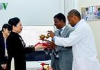 Phu nhân Chủ tịch nước thăm các bệnh nhân quỹ Hamlin Fistula Ethiopia