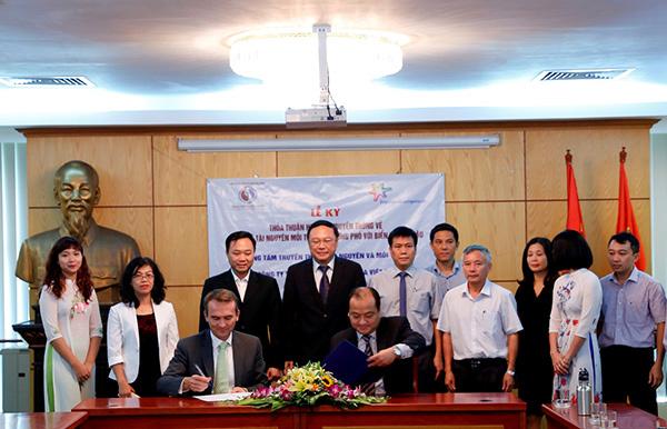 Chương trình hợp tác bảo về môi trường của FrieslandCampina Việt Nam