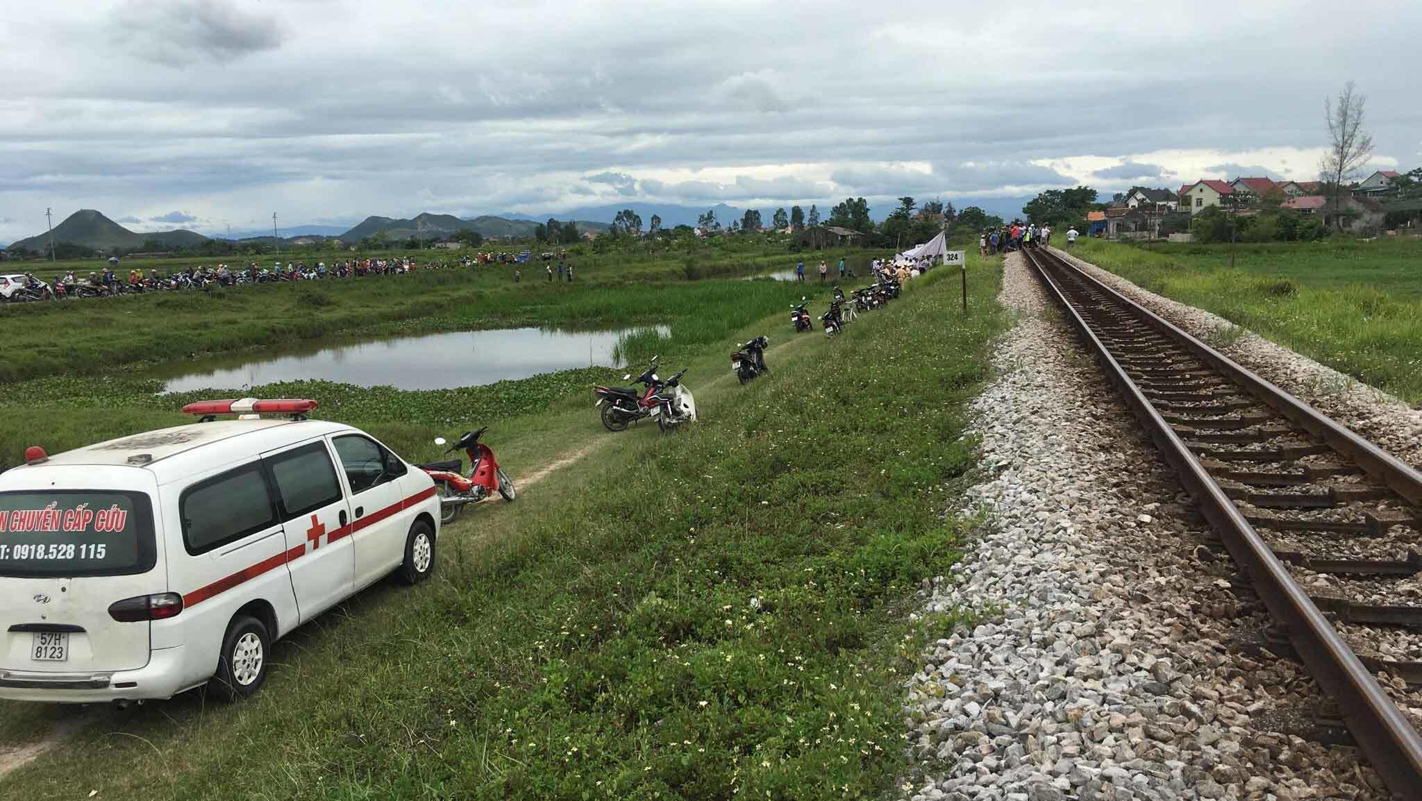 Tai nạn đường sắt,tai nạn tàu hoả,tai nạn chết người,Nghệ An,tai nạn,tai nạn giao thông